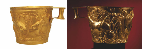 The Vapheio cups (1758, 1759)