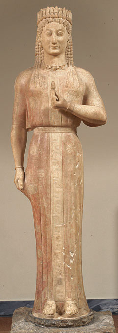 Funerary statue of the kore Phrasikleia (4889)
