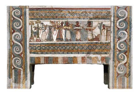 The Ayia Triada sarcophagus